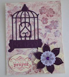 Christian Card Prayer Greeting Card by CardsbyJeweleighaB on Etsy.