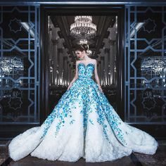 You can have custom dresses made that are inspired by Haute Couture Evening gowns by our fashion design firm. Wedding Dress Train, Wedding Gowns, Bridal Dresses, Prom Dresses, Champagne Dress, Fantasy Dress, Ballroom Dress, Custom Dresses, Fashion Weeks