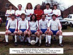 Robert Plant on a Soccer Team...1977