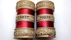 Personalized Wedding Chura With Name, Wedding Bangles Wedding Chura, Bridal Chura, Wedding Jewelry, Saree Collection, Jewelry Collection, Bridal Bangles, Personalized Wedding, Sarees, Indian