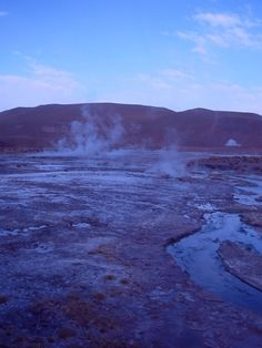 GEISERS DEL TATIO  SAN PEDRO DE ATACAMA-CHILE Deserts Of The World, Countries Of The World, Dry Desert, Nepal, South America, Chili, Most Beautiful, River, Country