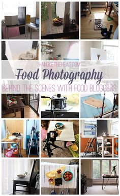 Food Photography Behind the Scenes with Food Bloggers! ** This was so inspiring and helpful to see!