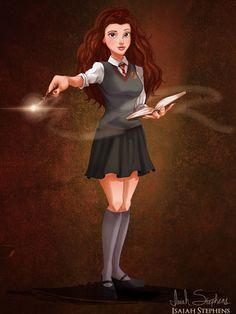 La Belle en Hermione Granger