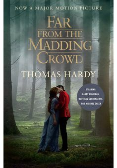 Our kind of Victorian romance, this story combines old-fashioned courtship with a decidedly independent-minded heroine. The latest version of Thomas Hardy's 1874 novel, starring Carey Mulligan, is the third feature-length treatment of the classic. #booksintomovies