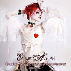 "Emilie Autumn offers up her deliciously ironic renditions of two of the most notorious songs of all time: Cyndi Lauper's ""Girls Just Wanna Have Fun,"" and Queen's ""Bohemian Rhapsody,"" shamelessly showing off her bizarrely wide vocal range as well as her ability to reproduce the famous Brian May guitar solo note for note on her electric violin."