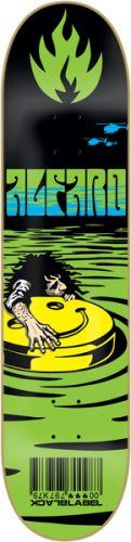 Appetite Skateboards - BLACK LABEL ALFARO BAD TRIP Skateboard Deck-8.12 Blacklight, $46.99 (http://appetiteskateboards.com/black-label-alfaro-bad-trip-skateboard-deck-8-12-blacklight/)