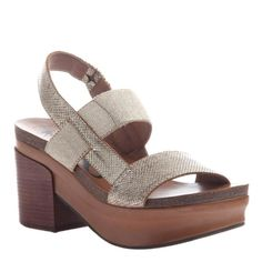 e4af93885e3 These 70 s inspired heeled platform wedges are the. OTBT shoes