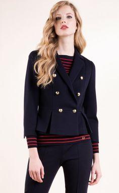 Luisa Spagnoli lancia la Collezione Primavera Estate 2016 in tutta la sua Eleganza Luisa Spagnoli collezione primavera estate 2016 blazer