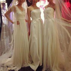 CELESTINA AGOSTINO  (左)03-8806(中)03-6593(右)03-6594 Bridesmaid Dresses, Prom Dresses, Formal Dresses, Wedding Dresses, Fashion, Bridesmade Dresses, Dresses For Formal, Bride Dresses, Moda