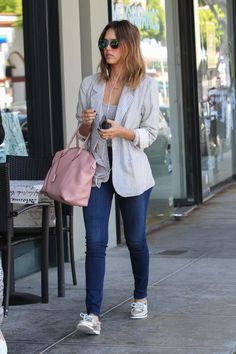 Jessica Alba's Style. You can always count on her for outfit inspiration and it's easy to copy her hottest looks on any budget.
