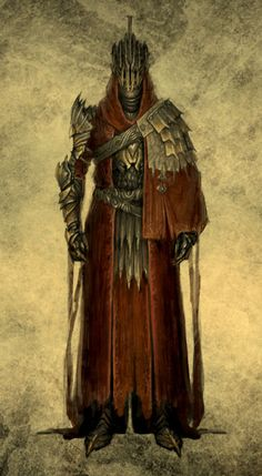 armour red robe villain evil