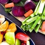 El valor nutricional de la fruta y verdura cortada