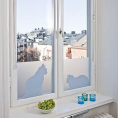 Vinilos adhesivos para decorar ventanas 2