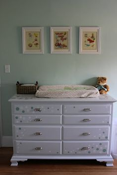 DIY Furniture Makeover: Changing Table/Dresser