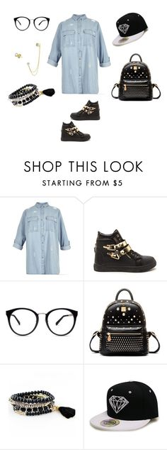 """""""Untitled #48"""" by ivanov1234491 ❤ liked on Polyvore featuring River Island and Bling Jewelry"""