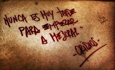 #FrasesOridios  #LaDuda  #Oridios14Años  Hasta mañana!