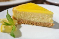 Yummy No-Bake Lemon Cheesecake No Bake Lemon Cheesecake, Mango Cheesecake, Cheesecake Bars, Easy Dinner Recipes, Sweet Recipes, Dessert Recipes, Desserts, Digestive Biscuits, Gastronomia