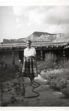 Article: The Telegraph Georgia O'Keeffe, Ghost Ranch House Patio, 1944