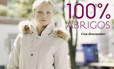 100% #Abrigos con descuento para este invierno.