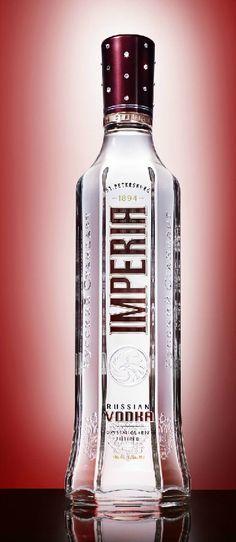Limited Edition Swarovski Crystal Imperia Vodka bottle