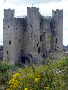 Trim Castle in County Meath Ireland -Built 1272