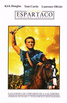 ESPARTACO (1961). Stanley Kubrick. La força i el determini de l'esclau més famós del cinema, que va aconseguir liderar la revolta dels esclaus contra la República romana.  #recomanacions #cineimes #imperiroma. Consulteu la disponibilitat a: http://elmeuargus.biblioteques.gencat.cat/search~S125*cat/?searchtype=X&searcharg=ESPARTACO++dvd&searchscope=125&sortdropdown=-&SORT=DZ&extended=0&SUBMIT=Cerca&searchlimits=&searchorigarg=XCarlo+Ludovico+Bragaglia+dvd%26SORT%3DDZ