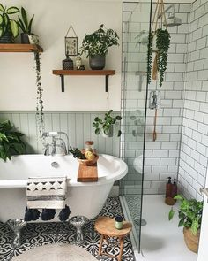 Budget Home Decorating, Interior Decorating, Boho Bathroom, Small Bathroom, Master Bathroom, Rental Bathroom, Bathroom Vanities, Bathroom Remodeling, Scandinavian Style Home