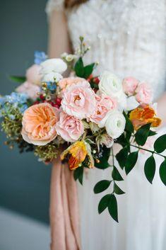 Colorful Bridal Bouquet | Ohio Wedding Florist