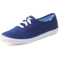 Keds Keds Women's Champion Oxford Low Top Sneaker - Dark Blue/Navy -... ($25) ❤ liked on Polyvore featuring shoes, sneakers, keds shoes, keds, keds sneakers and keds footwear
