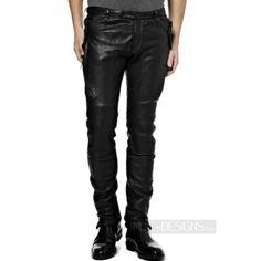 Indie Designs Burberry Prorsum Inspired Lambskin Leather Biker Pants