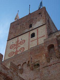 porta Bassano Cittadella Treviso Veneto Italy