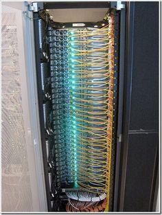 Fiber optic panel