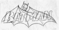 batman tattoo minus the words? Batman Tattoo, Batman Logo, Logo Marvel, I Am Batman, Marvel Drawings, Cartoon Drawings, Easy Drawings, Batman Painting, Batman Artwork