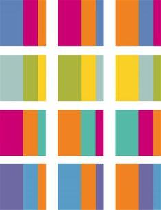 Exemples d'harmonies de contraste chaud / froid Colour Pallette, Colour Schemes, Color Trends, Color Combos, Color Harmony, Color Balance, Color Combinations For Clothes, Color Palette Challenge, Color Of Life