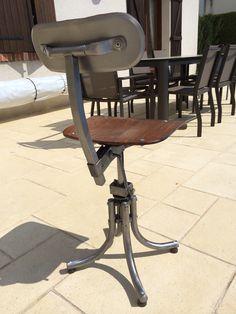 Chaise Bienaise 1960´s après restauration par mes soins. Restaurant, Stationary, Gym Equipment, Bike, Restoration, Home Ideas, Chair, Bicycle, Diner Restaurant