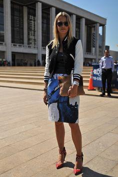 New York Street Style     #StreetStyle #Fashion #NYFW #NewYorkFashionWeek