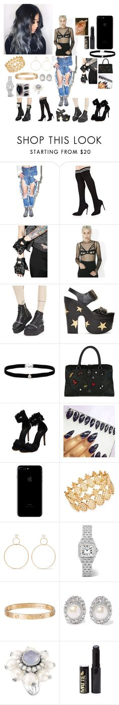 """Young fashion # 273"" by demacracy ❤ liked on Polyvore featuring OneTeaspoon, Funk Plus, The Nude Label, STELLA McCARTNEY, Amanda Rose Collection, Coach, GURU, INC International Concepts, Natasha Schweitzer and Cartier"
