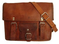 Small Crossbody Leather Bag Leather book bag by leathercharm87, $29.00