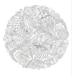 Adult Coloring Pages Colouring In Mandalas Printable Books Sheets