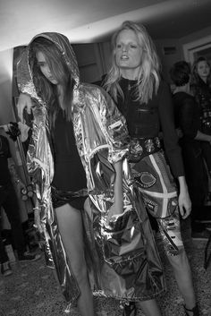 Emilio Pucci Spring Summer 2014 Josephine Skriver and Hanne Gaby Odiele