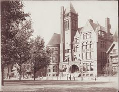 Allegheny High School; c. 1900