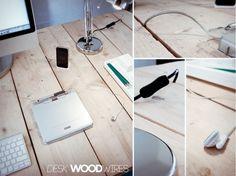 DIY Plank Desk