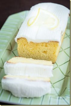 Starbucks Lemon Loaf Cake - the True Copycat Recipe ~ fluffy, yet dense, yet moist with a delicious lemony glaze