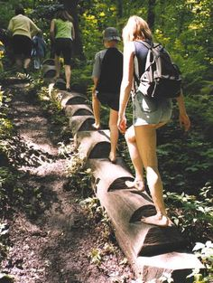 Barefoot Parks and Sensation Paths | Playscapes