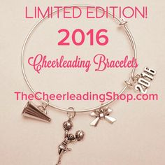 If you LOVE those super popular, and beautiful, bangle charm adjustable bracelets, then you will LOVE this Cheerleading themed one!!!!! Product Summary: The following are the items that will be includ