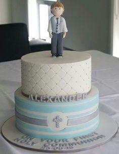 Communion cake design idea