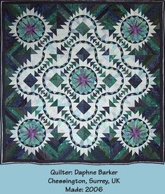 Feathered Goose ~ Quiltworx.com  Made by Dafhne Barker