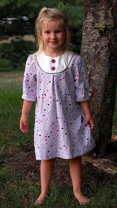 Oliver and S Playdate Dress (own size 6m-8)