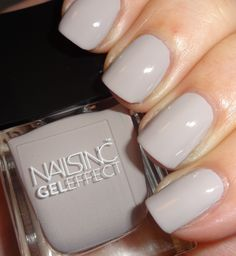 Nails Inc Chelsea Park Lane #nailsinc #geleffect #neutralnails