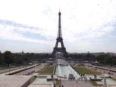 The Eiffel Tower, Paris. (Photo: WendyJames ~ August 2012)
